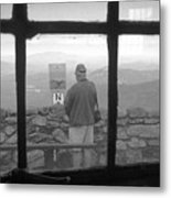 Window On White Mountain Metal Print