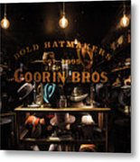 Window Shopping Color Metal Print