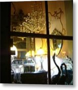 Window Shopping In The French Quarter Metal Print