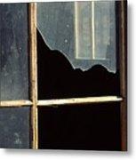 Window. Metal Print