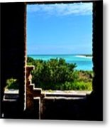 Window To Paradise Metal Print