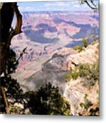 Window To The Past 1 - Grand Canyon Metal Print