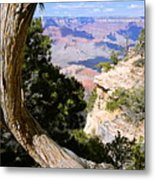 Window To The Past 21 - Grand Canyon Metal Print