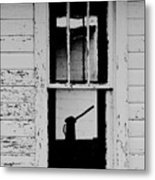 Window To The Past Metal Print