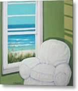 Window To The Sea No. 2 Metal Print