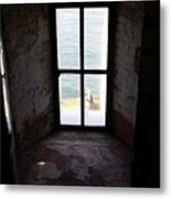 Window To The Sea Metal Print
