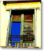 Window To The Sky By Michael Fitzpatrick Metal Print by Mexicolors Art Photography