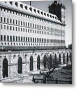 Windows Of El Escorial Spain Metal Print