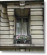 Windows Of Paris Metal Print