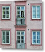 Windows Of The French Style Metal Print