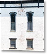 Windows Of The Past Metal Print