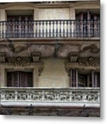 Windows Over Barcelona Metal Print