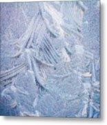 Iced Windshield  Metal Print
