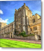 Windsor Castle Architecture Metal Print