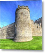 Windsor Castle Battlements  Metal Print