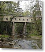 Windsor Mills Covered Bridge 3 Metal Print