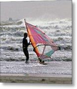 Windsurfer, Aransas Pass, Texas Metal Print