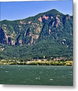 Windsurfing In The Gorge Metal Print