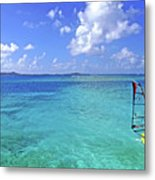 Windsurfing The Islands Metal Print