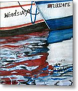 Windswept Reflections Sold Metal Print