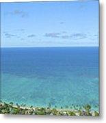 Windward Oahu Panorama II Metal Print