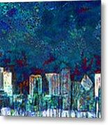 Windy Chicago Illinois Skyline Party Nights 20180516 Metal Print