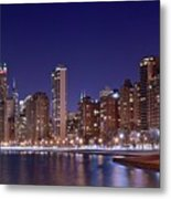 Windy City Lakefront Metal Print