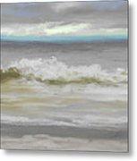Windy Hill Beach - Myrtle Beach, Sc Metal Print