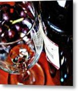 Wine And Dine 1 Metal Print