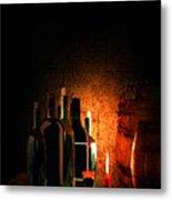 Wine And Leisure Metal Print