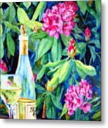 Wine And Rhodies Metal Print