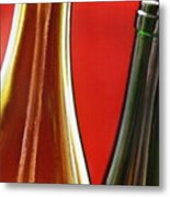 Wine Bottles 7 Metal Print