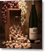 Wine Corks Still Life II Metal Print by Tom Mc Nemar
