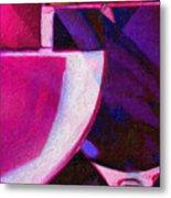 Wine Glass 1 Metal Print