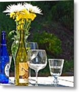 Wine Me Up Metal Print