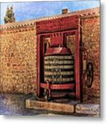 Wine Press Near Narbonne France Dsc01630 Metal Print