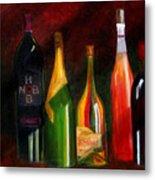 Colors Of Wine Metal Print
