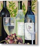 Wine Time Metal Print