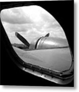 Wing And Window Metal Print