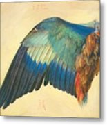 Wing Of A Blue Roller 1512 Metal Print