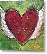 Winged Heart Number 1 Metal Print