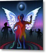 Winged Life Metal Print