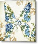 Winged Tapestry Iv Metal Print