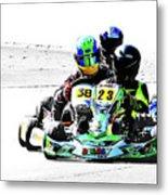 Wingham Go Karts 09 Metal Print