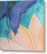 Wings And Pedals Metal Print