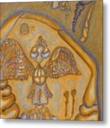 Wings Of It Metal Print