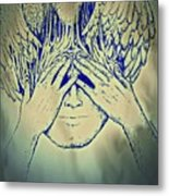 Wings To The Thoughts Metal Print