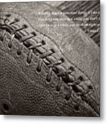 Winning Quote From Vince Lombardi Metal Print