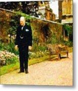 Winston Churchill, 1943 Metal Print