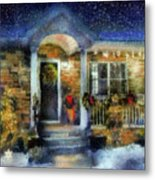 Winter - Christmas - Dressed Up For The Holidays  Metal Print